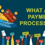 illustration of payment processors and arms holding up money and credit/debit cards