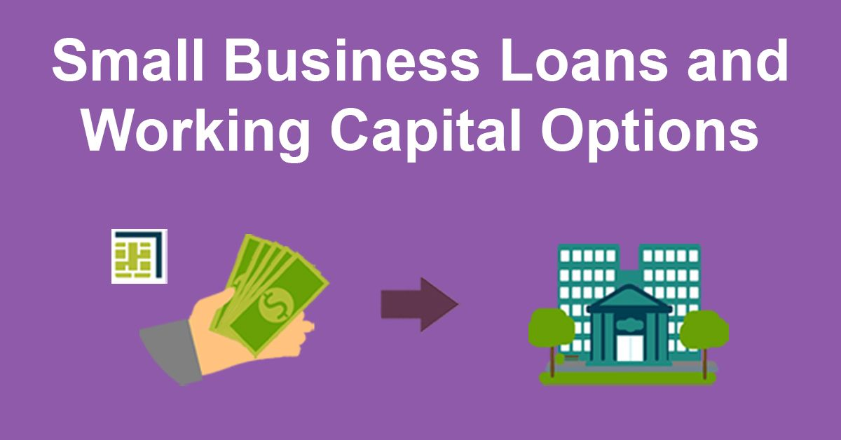 Business Loans and Working Capital Options illustration