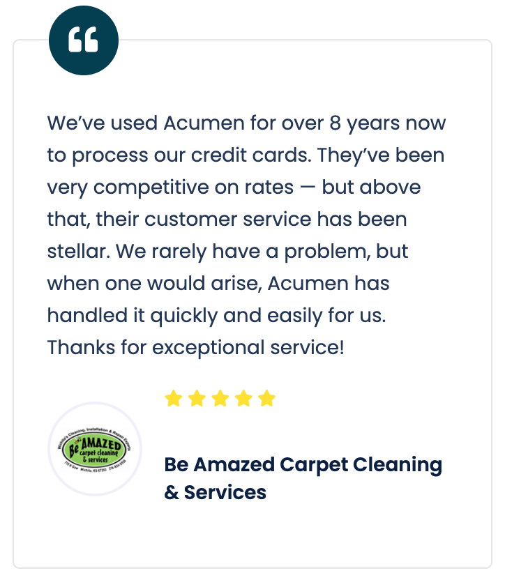 Be Amazed Carpet Cleaning review